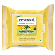 Dickinson's Original Witch Hazel Daily Refreshingly Clean Cleansing Cloths unscented 25 ct