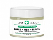 For Dry Skin-Natural Organic DMAE+MSM+NIACIN Firming Cream, 100% Pure Hyaluronic Acid, Argireline, Matrixyl 3000