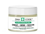 For Dry Skin-Natural Organic DMAE+MSM+NIACIN Firming Cream, 100% Pure Hyaluronic Acid, Argireline, Matrixyl 3000