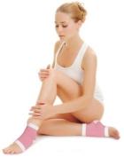 Peak Personal Care Moisturising Therapy Gel Heel Foot Sock Pair