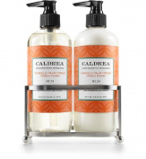 Caldrea Petite Sink Set in Stainless Moisturising Lotion and Hand Wash