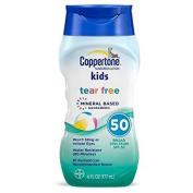 Coppertone Kids Tear Free Mineral Based Sunscreen, SPF 50, 180ml Per Bottle