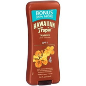 Hawaiian Tropic Tanning Lotion Sunscreen, SPF, 4, 320ml