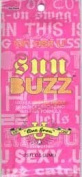Lot of 5 Sun Buzz Hot Tingle Tanning Lotion Packets