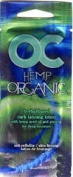 Lot of 5 Oc Hemp Organic Tanning Lotion Packet