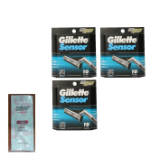 Sensor Refill Blade Cartridges, 10 Ct.