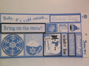 The Paper PatchSnow Cardstock Words & Tags Cutouts