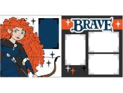 """Brave. Merida"" ASSEMBLED Scrapbook Pages"
