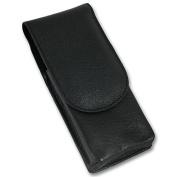 Timor Black Leather Safety Razor Travel Case