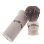 Col Conk Badger Bristle Shaving Brush W/case Travel Size