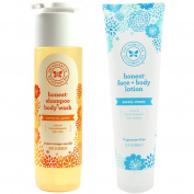 Honest Co Shampoo & Body Wash + Face & Body Lotion