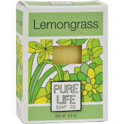 Pure Life Soap Lemongrass and Mint - 130ml - Dairy Free - 100% Organic Nutritive Soap