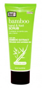 Hand & Foot Scrub 120ml w/ Bamboo Extract By Hoof - This Unique Formula of Bamboo Extract That Will Help Stimulate and Exfoliate Skin.