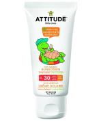 Attitude Mineral Sunscreen Spf 30 - 100% Mineral, Vanilla Blossom, 80ml