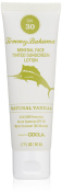 Tommy Bahama Sunscreen, Vanilla Scented Mineral Tinted Face Sunscreen, SPF 30, 1.7 Fluid Ounce