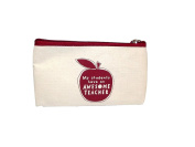 Awesome Teacher Zipper Case with Apple