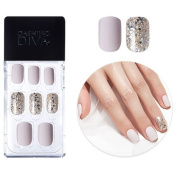 2016 F/W New Dashing Diva Full Cover Gel Nail Tips, Easy to attach without Glue (Square Type, Disposable) MPGS41
