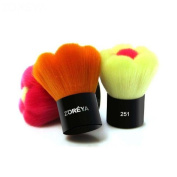 Multifunction flower shaped contour brush