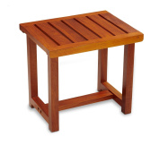 Conair Home Solid Teak Spa Bench; Modern Look