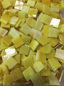 1.3cm Yellow B Stained Glass Mosaic Tiles