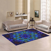 JC-Dress Area Rug Cover Mandala Art Modern Carpet Cover 2.1mx1.5m