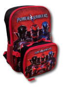 Power Rangers Backpack with Detachable Insulated Lunch Bag