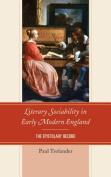 Literary Sociability in Early Modern England