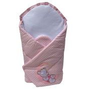 Night Time Teddy Bear Swaddle Wrap