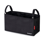 Cheerlife Waterproof Buggy Pushchair Organiser Bag Storage Bag Bottle Holder