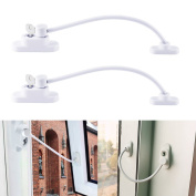 4pcs Child Security Window Door Restrictor Baby Safety Cable Lock Catch Wire