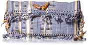 'ale by alessandra Women's Cambrai Nagas Tribe Woven Clutch