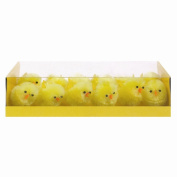 12 Pack Easter Chick Decoration - 3.5cm Approx