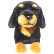 Dachshund (Black & Tan) Soft Toy 30cm