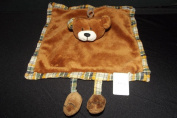 Doudou et Compagnie Puppet Aubert Aubert Creation Flat Square Brown Bear and Legs