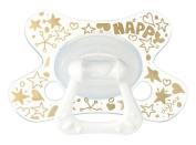 Difrax DIFR3 Soother Dental Pacifier, 18 Plus Months, Gold