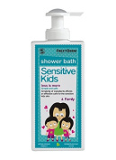 FREZYDERM Sensitive Kids Shower Bath Body Wash