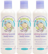 (3 PACK) - Earth Friendly Baby - Calming Lavender Body Lotion | 250ml | 3 PACK BUNDLE