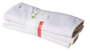 P 'tits Bottom 3214616 Small Pea Inserts Washable White 2 Pieces