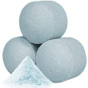 10x Scented Mini Bath Bomb Fizzers - Chill Pills - Baby Powder