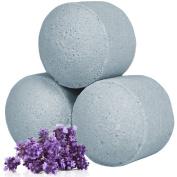 10x Scented Mini Bath Bomb Fizzers - Chill Pills - Lavender