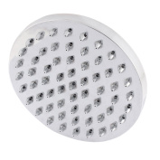 Round Shaped Bathroom Bath Rainfall Shower Head 15cm 6-inch Dia