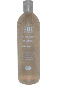 Om She Aromatherapy Body Wash 500ml White Tea & Bergamot