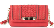 Jessica Simpson Jenna Chain Wallet On A String - Brick Red
