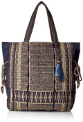 'Ale By Alessandra Women's Blue Skies Traditional Hand-Loomed Fabric Tote