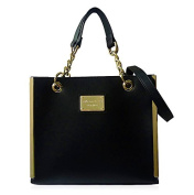 Anna Smith Women's Top-Handle Bag black black