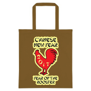 Chinese Year Of The Rooster 2017 Tote Bag