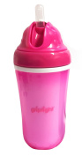 Griptight - Insulated Large Silicone Straw Bottle