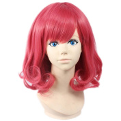 Etruke Short Anime Rose Noragami Kofuku Wave Cosplay Wigs