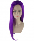 Pokemon Jessie Purple Cosplay Party Costume Wig HW-1120 Adult