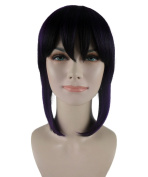 Exclusive! Ghost in the shell Motoko Kusanagi Scarlett Johansson Cosplay Party Costume Wig HW-1112 Adult